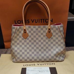 Authentic Louis Vuitton Calvi Damier Azur
